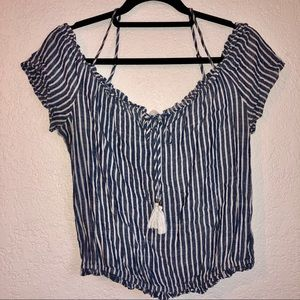 Becool Striped Blouse